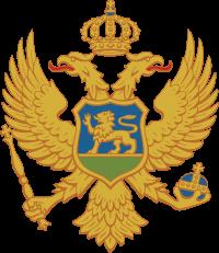 کوٹ of arms of Montenegro