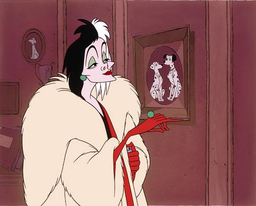 Classic Disney wallpaper entitled Cruella