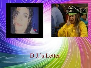 D.J.'s Letter