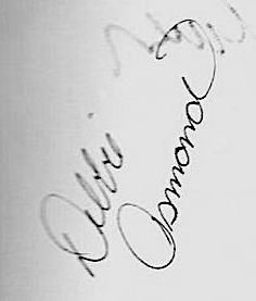 Debbie's Autograph