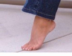 Debbie's Foot