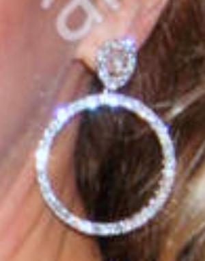 Debbie's Sparkly Earring