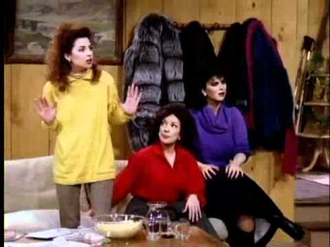 Golden Girls VS Designing Women wolpeyper titled Designing Women
