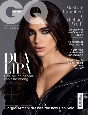 Dua Lipa (GQ UK Magazine, May 2018)