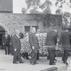 Errol Flynn's Funeral In 1959