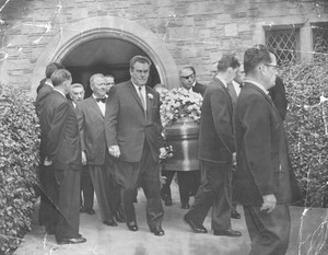 Erroll Flynn's Funeral In 1959