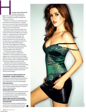 FHM interview(2008)