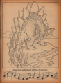 Fantasia Coloring page Stegosaurus - the-rite-of-spring-fantasia-sequence photo