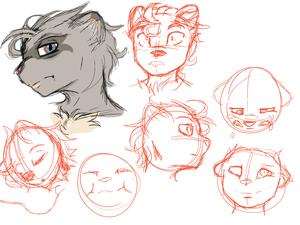 Ferron Sketches