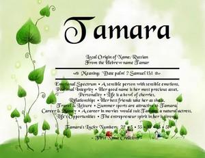 For Tamara 🌼