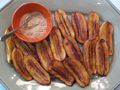 Fried Saba Bananas