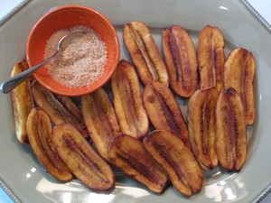 Fried Saba Bananas