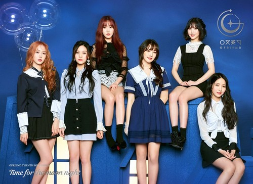 """GFriend দেওয়ালপত্র titled GFriend 6th Mini Album """"Time for the Moon Night"""" Concept Pictures"""
