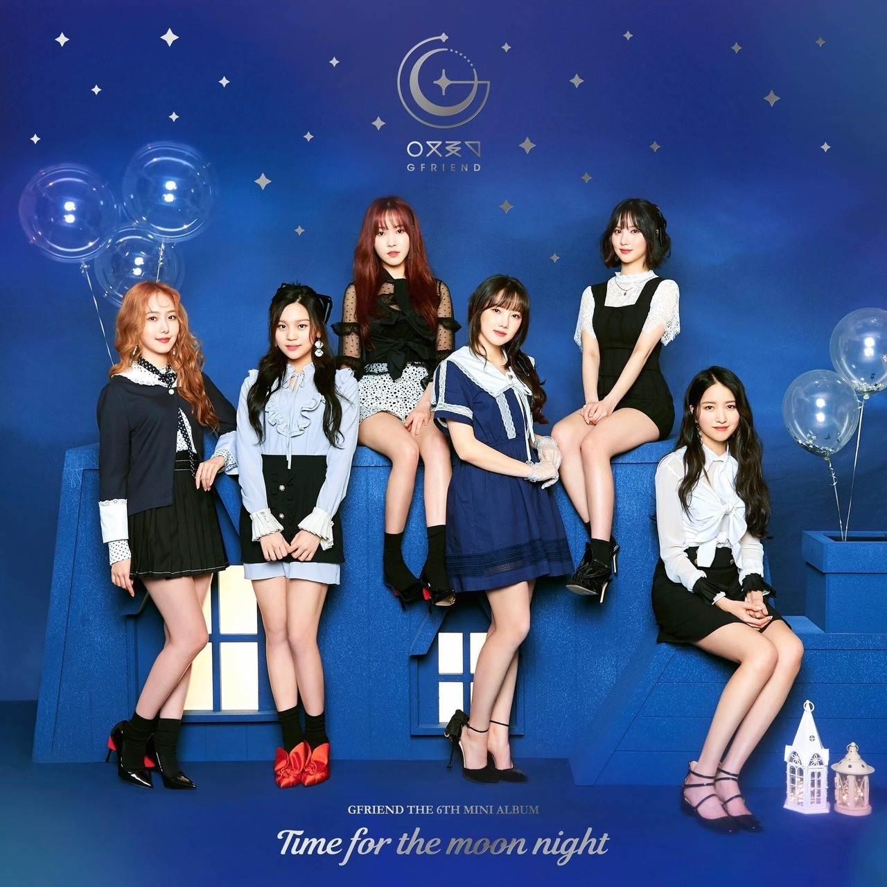 """GFriend 6th Mini Album """"Time for the Moon Night"""" Concept Pictures"""