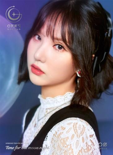 GFriend দেওয়ালপত্র titled GFriend Eunha 6th Mini Album - Time for the Moon Night Concept Pictures