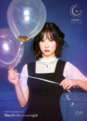 GFriend Eunha 6th Mini Album - Time for the Moon Night Concept Pictures