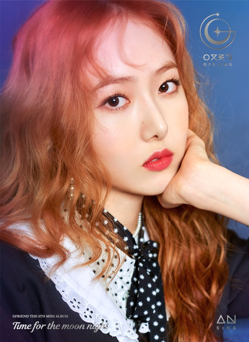 GFriend SinB 6th Mini Album - Time for the Moon Night Concept Pictures