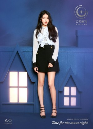 GFriend Sowon 6th Mini Album - Time for the Moon Night Concept Pictures