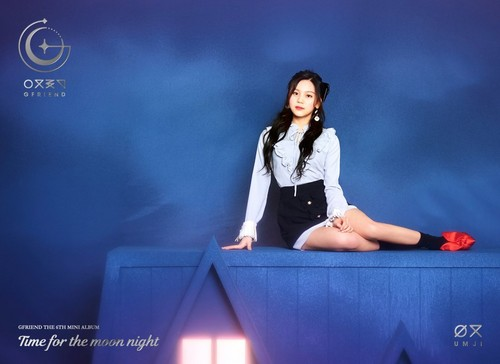 GFriend wallpaper titled GFriend Umji 6th Mini Album - Time for the Moon Night Concept Pictures