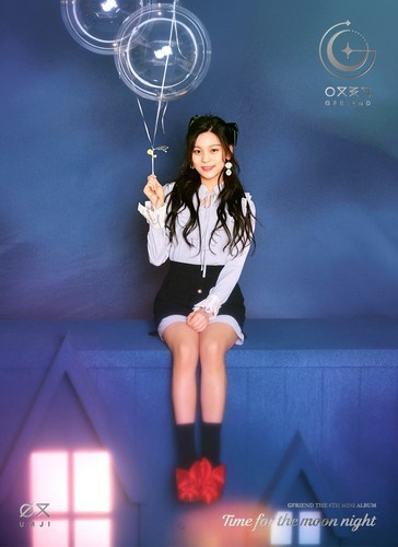 GFriend দেওয়ালপত্র entitled GFriend Umji 6th Mini Album - Time for the Moon Night Concept Pictures
