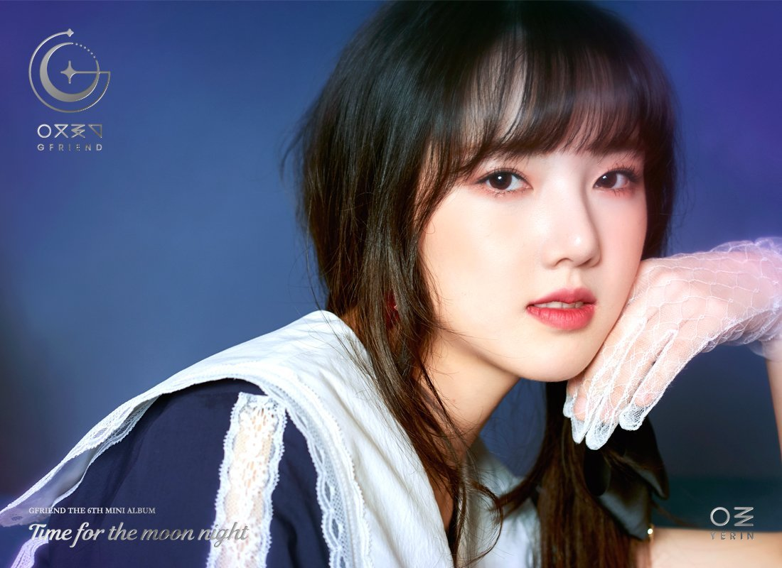 GFriend Yerin 6th Mini Album - Time for the Moon Night Concept Pictures