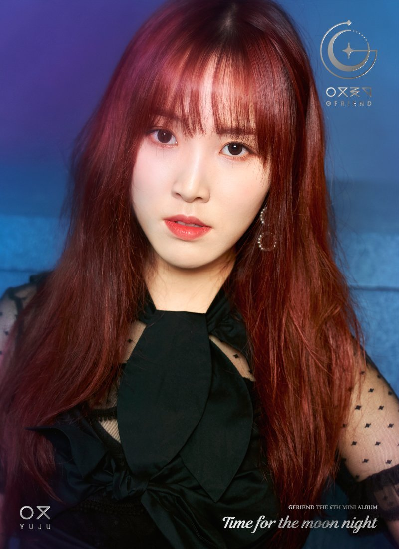 GFriend Yuju 6th Mini Album - Time for the Moon Night Concept Pictures