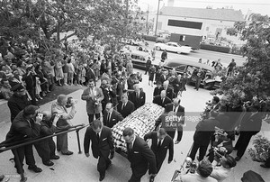 Gary Cooper's Funeral In 1961