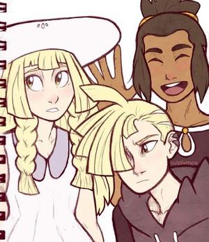 Gladion, Hau, Lillie | Pokemon