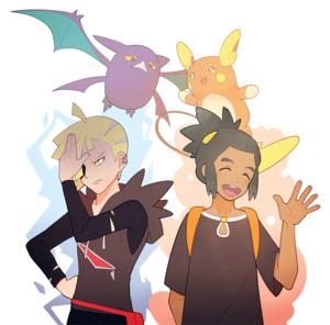 Gladion, Hau | Pokemon