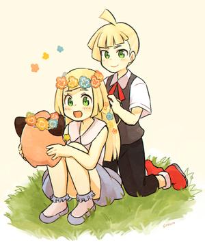 Gladion, Lillie | Pokemon