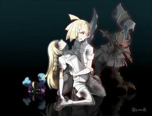 Gladion, Lillie, Type: null | Pokemon