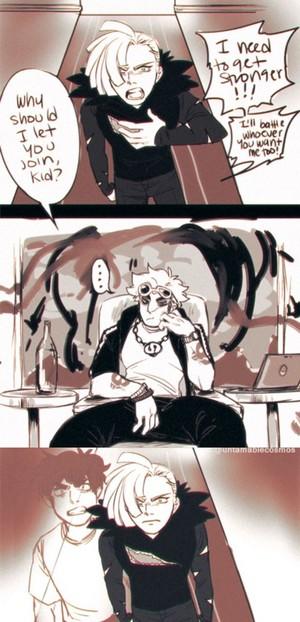 Gladion and Guzma   Pokemon