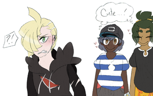 Gladion and Hau | Pokemon