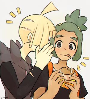 Gladion and Hau | Pokemon