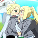 Gladion and Lillie icone | Pokemon