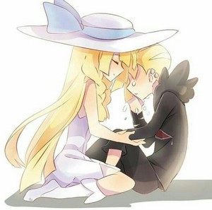 Gladion and Lillie | Pokemon