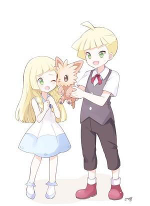 Gladion and Lillie   Pokemon