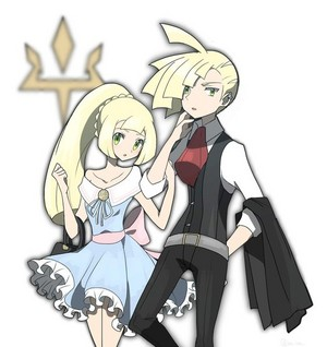 Gladion and Lillie | Pokemon