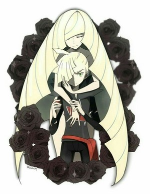 Gladion and Lusamine | Pokemon