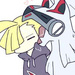 Gladion and Silvally icone | Pokemon
