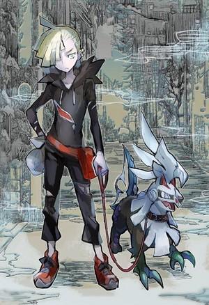 Gladion and Silvally | Pokemon