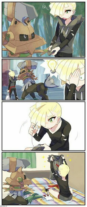 Gladion and Type Null | Pokemon