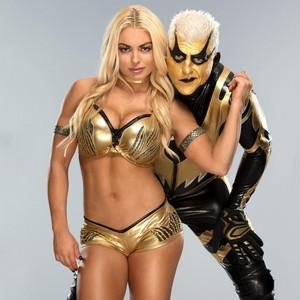 Goldust and Mandy Rose