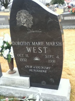 Gravesite Of Dottie West
