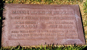 Gravesite Of Minnie Riperton