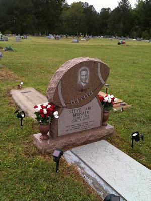 Gravesite Of Steve McNair