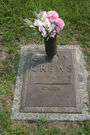 Gravesite Of Tim Crews