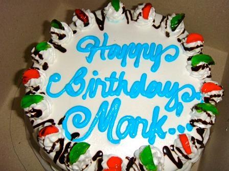 Happy Birthday Marc Cake Beelduit