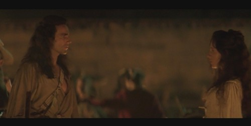 The Last of the Mohicans fond d'écran titled Hawkeye and Cora