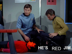 He is Red, Jim.